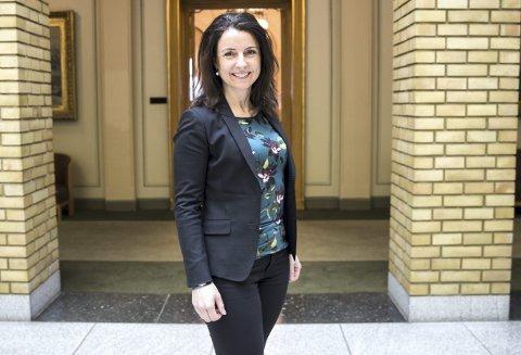 Jenny Klinge (Sp) har utfordret justisministeren. Foto: Håkon Mosvold Larsen / NTB scanpix