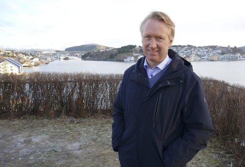 Optimist: – Vi skal vokse videre med base i Kristiansund. Anders Marthinussen har tatt over roret som daglig leder i Kontali Analyse.