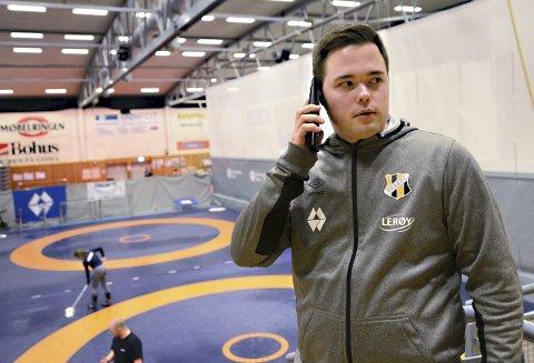 Leder i Braatt: Det har blitt mange telefonsamtaler og det har vært masse å gjøre for Krister Bergstad og resten av ledelsen i IL Braatt den siste uka.