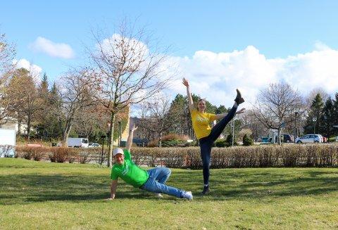 Siden det ikke ble noe av Dansens Dager i fjor, tror Sanna og Mads at det blir ekstra gøy i år.