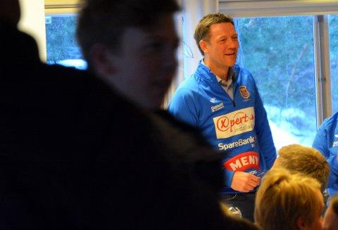 MØTE: Thomas Lie, nestleder i Teie IF og i fotballgruppa.