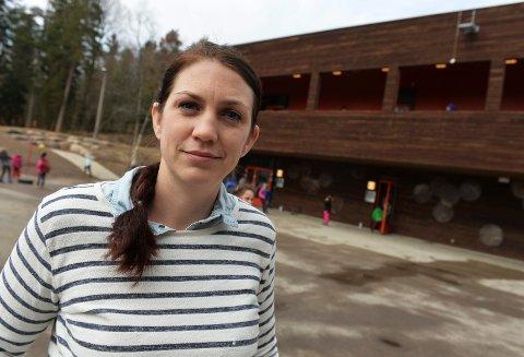MOBBEOMBUD: Kaja Vintervold Asmyhr er ansatt i Vestfold fylkeskommune som nytt mobbeombud. Hun kommer fra stillingen som inspektør på Teie skole.
