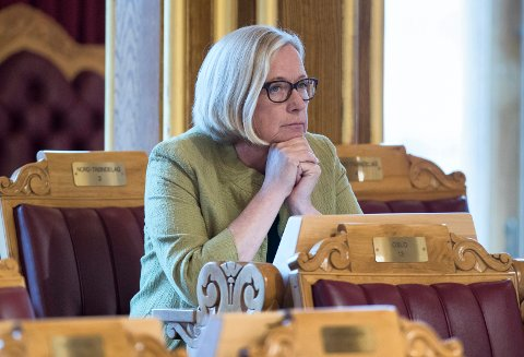 PLANEN KLAR: Parlamentarisk leder Marit Arnstad (Sp) har planen klar for hvordan de skal gjenåpne lensmannskontorer hvis de havner i regjering etter valget til høsten.