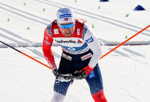 GÅR IKKE SØNDAG: Emil Iversen bekreftet selv at han ikke er tatt ut til søndagens lagsprint.