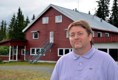 Ny runde: Hans Christian Pettersen og Os Utvikling AS søker nå om akuttmottak på Os. FOTO: Geir Helge Skattebo