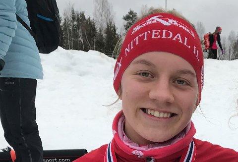 HABIL SKILØPER: Ida Ramstad har flere norgescupplasseringer blant de ti beste, og i år stilte hun til og med i senior-NM.