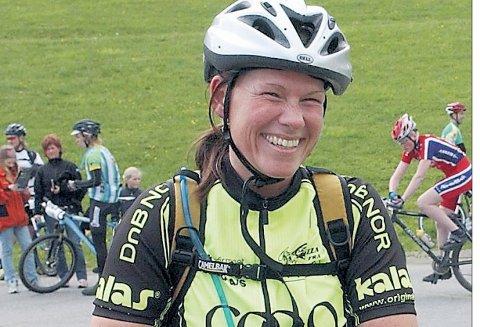 ANNO 2009: Celine Monrad-Haslum var Norges beste syklist i sin veteranklasse i 2009 og vant også nordisk mesterskap samme år.