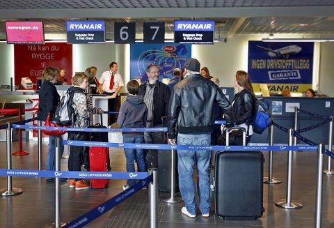 JOBBER ENNÅ: Eierne av Moss lufthavn Rygge jobber fortsatt med å få på plass avtaler med flyselskaper som skal sørge for en gjenåpning av flyplassen i 2020.