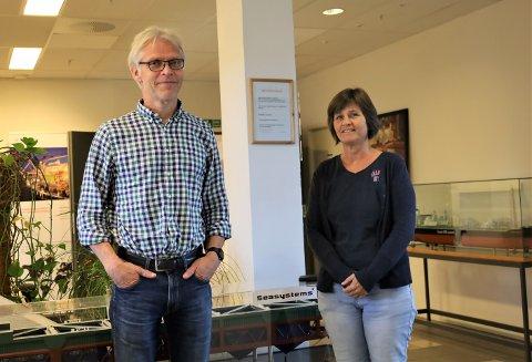MÅ KANSKJE FLYTTE: Selskapet Seasystems ønsker å bli værende i Vestby, men fremtiden er usikker. Daglig leder, Torkjell Lisland, sier det er tilgangen til offentlig transport som avgjør hvorvidt bedriften blir i Vestby.