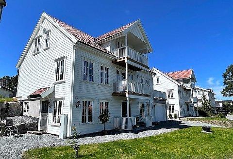 Torfinn Aas og familien kjøpte Solåsveien 28 på Hellvik for 13.094.849 kroner nå i våres.