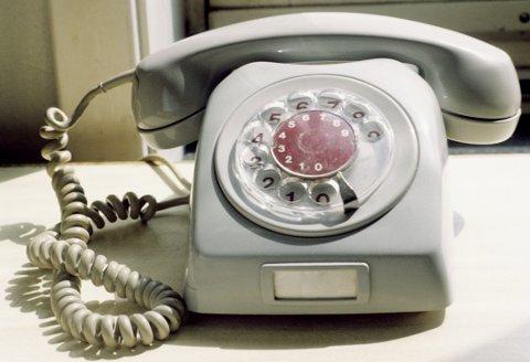 SNART SLUTT: Denne husker mange, men snart er det helt slutt med god gammeldags fasttelefon for Telenor-kundene.