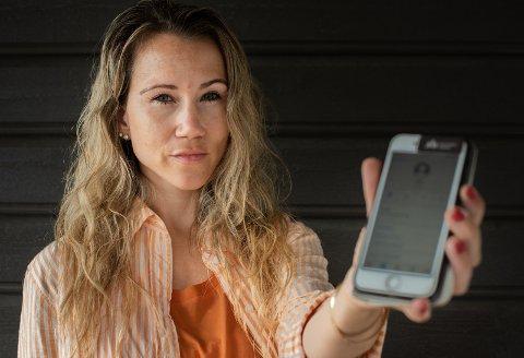 SVINDELFORSØK: Jane Christin Kristiansen (33) ble oppringt av 112 i et svindelforsøk.