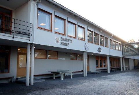 BARNESKOLE: Innsenderen vil oppheve det kommunale vedtaket som stopper elever på Snarøya skole som vil flytte over til Storøya skole.