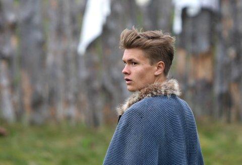 Sigvart: Nils Arne Halle Erstad er gått inn i rollen som Sigvart Sverresson denne sommeren og forteller om en vidunderlig mottakelse på Smøla.