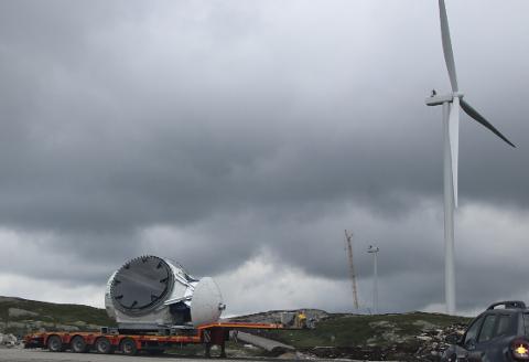 FORSINKET: Buheii vindkraftverk har opplevd forsinkelser i prosjektet grunnet innreiserestriksjoner forårsaket av korona-pandemien. Forsinkelsene handler blant annet om tilgang på kvalifisert personell.