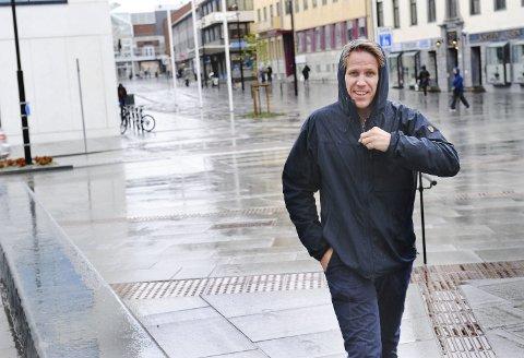 Snart Arbeidsledig: Tomas Lønsetteig synes det er godt å være i mål med byjubileet, etter mange år med mye jobbing. Så snart det siste etterarbeidet er ferdigstilt, begynner han å se seg om etter et nytt prosjekt å lede.