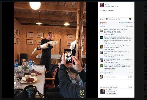 Foto: Skjermdump fra Sting sin offisielle Facebook-side.