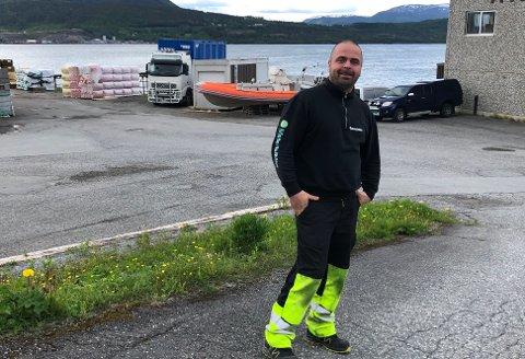 Positiv trend: Richard Osbakk (40) fra Fauske er i flytsonen for tiden, etter noen harde oppstartsår, som toppet seg med å bli slått konkur si 2018. Nå er selskapet i full drift igjen, og en nyetablering står for tur.