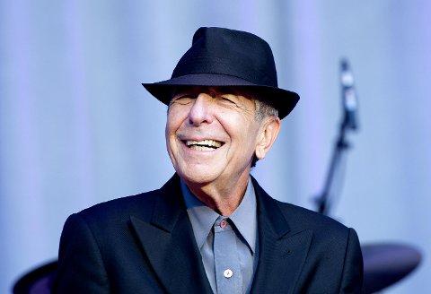 Leonard Cohen på Koengen i 2012.
