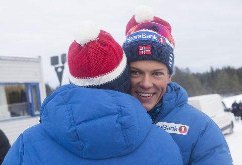 Johannes Høsflot Klæbo vant den klassiske sprinten.