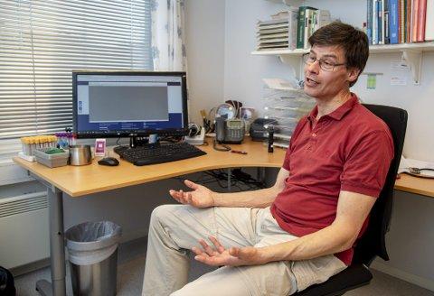 Niels Saaby Hansen var tillitsvalgt for fastlegene i ti år. Gang på gang påpekte han mangler ved journalsystemet til legevakten uten at det førte til endringer. FOTO: EIRIK HAGESÆTER