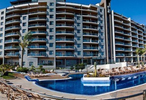 Jacob Lund fikk en lei start på ferien ved Radisson Blu Resort på Gran Canaria.
