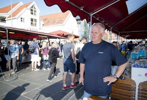 Forventer endringer: Åge Sørensen regner med at det blir en del endringer i planene fremover, selv om juryen landet på en favoritt.arkivfoto: BA