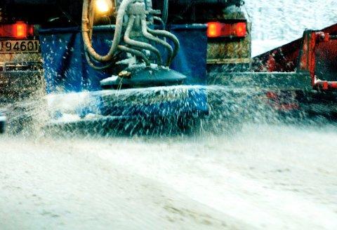 Saltbruken på norske veier øker for hvert eneste år.