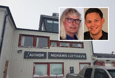 Ordførerne i Gamvik og Lebesby kommune, Alf Normann og Sigurd Rafaelsen, sier navneskiftet vil være med å utvikle regionen og styrke samholdet.