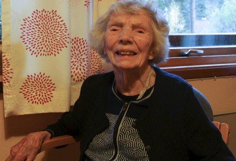 LIVSHISTORIE: Alvhild Stafsnes si livshistorie har blitt ein del aveit teaterstykke.