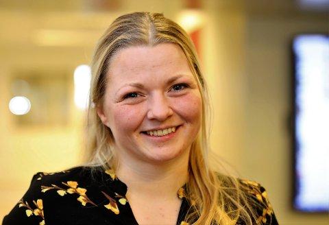 ENGASJERT: – Eg kjem aldri til å gå på akkord med det eg står for, seier SV sin toppkandidat i Kinn, Marie Øverås Jensen (36)