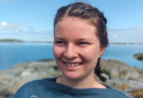 TRIST:Mona Eide Onstad (23) synst det er viktig å snakke meir nyansert om vindkraft.