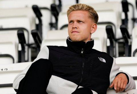 FEKK DEBUTEN: Torje Naustdal debuterte for sin nye klubb FK Haugesund borte mot Molde søndag.