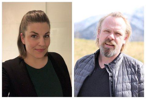 LETTA: Jenny Thomassen Nyland er glad og letta over å ha fått på plass eit nytt styre med den lokalsamfunnsengasjerte tilflyttaren Anders Nybø som leiar.