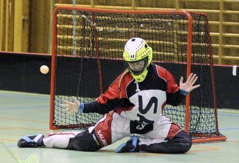 God: Helene Hauge Pedersen (13) gjorde en god turnering i mål for Hvaler G14.