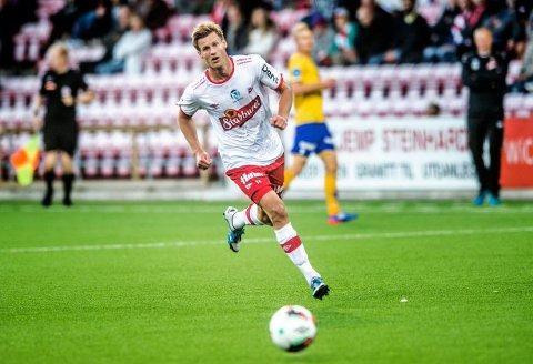 SKUFFET: Ulrik Flo lover at FFK skal gi alt for å berge ny kontrakt, men at nøkkelen ligger i å vinne hjemmekampene. Foto: