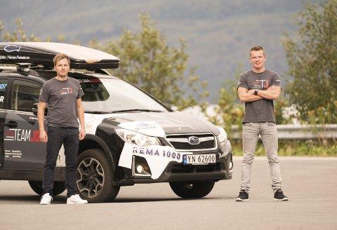 SUPERDUO: Manager Ole Fredrik Hansen (t.v.) og Vegard Johnsen lader opp til en ny skisesong. Begge foto: Kristoffer Klem Bergersen.