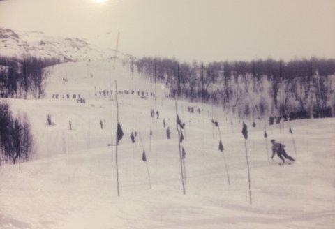 «Holtskleiva» er en av verdens bratteste slalåmbakker godkjent av FIS.