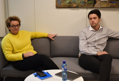 BEKYMRET: Frps kommunestyrerepresentanter Anne Grethe Hauan og Bjørn-Kristian Svendsrud ønsker å kartlegge situasjonen blant Hortens eldre under koronakrisen.