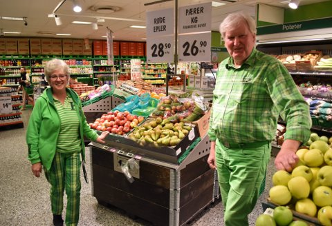 REKORDÅR: Et år uten handelslekkasje til Sverige merkes godt i butikken til Vegard og Vigdis Brataas.