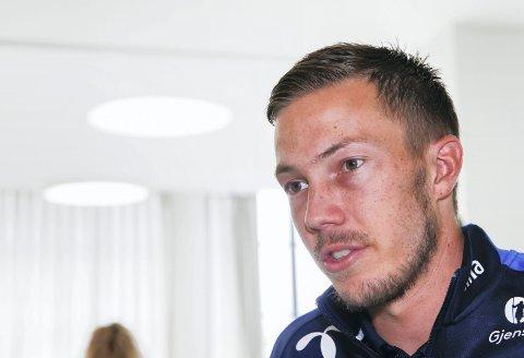 SPILLER IKKE: Martin Linnes har meldt forfall til landskampene mot Tsjekkia og Sverige.