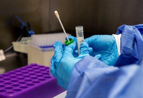 LAV SMITTESPREDNING: Reproduksjonstallet, som indikerer hvor mye én smittet person smitter med koronavirsu, er lavt i Innlandet.
