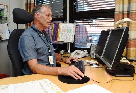 LEDER: Jostein Gravdal er leder ved etterforskningsseksjonen ved Innlandet politidistrikt.