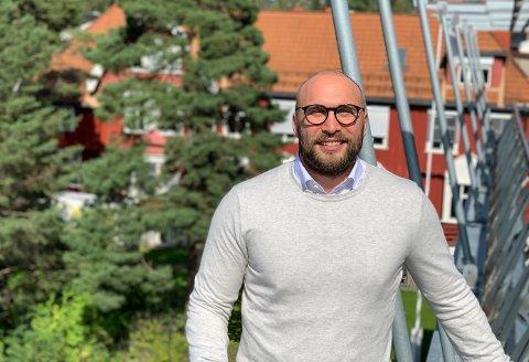 NY SJEF: Benedikt Phillip Wetzel (33) er ny administrerende direktør for Revmatismesykehuset.