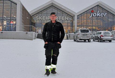 Erik Sveen og firmaet Erik Sveen AS hadde en økning i 925% i omsetning fra 2018 til 2019. Utviklingen på Skei sikrer lokale arbeidsplasser, sier Sveen.