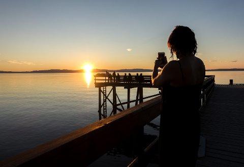 Sommerlykke: Det florerer av flotte ferieminner i sosiale medier. Hva gjør denne lykke-ekshibisjonismen med oss?Foto: Gorm Kallestad/NTB scanpix