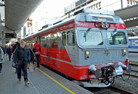 TOG: Det vil bli begrenset togtrafikk på Gjøvikbanen og andre linjer på Østlandet i uke 31.