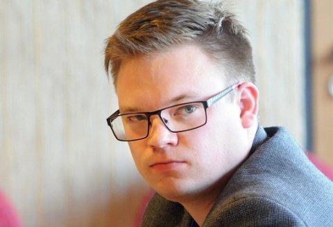 Fylkesordfører Even Aleksander Hagen