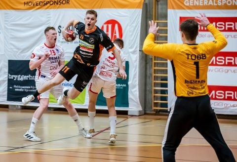 TAP: Toke Schrøder og Halden tapte 21-23 for Kolstad i Remmenhallen.