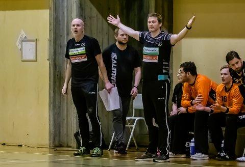 Jan Thomas Lauritzen slo ut med armene over lagets innsats.